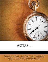 Actas...
