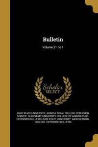 BULLETIN V21 NO 1