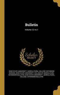 BULLETIN V12 NO 1