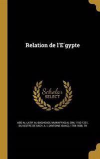 FRE-RELATION DE LE GYPTE