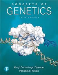 Concepts of Genetics Plus Mastering Genetics with Pearson Etext -- Access Card Package [With eBook]