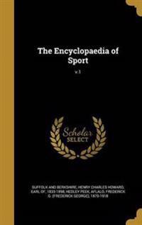 ENCYCLOPAEDIA OF SPORT V1