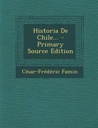 Historia De Chile...