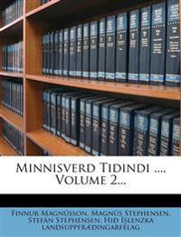 Minnisverd Tidindi ..., Volume 2...