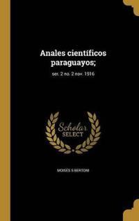 SPA-ANALES CIENTIFICOS PARAGUA