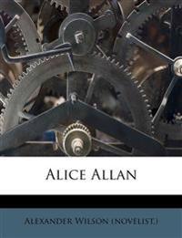 Alice Allan