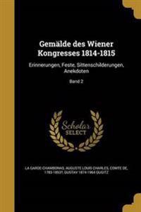 GER-GEMALDE DES WIENER KONGRES