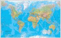 Världen väggkarta Norstedts 1:30 milj i tub - 1:30 milj