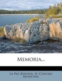 Memoria...
