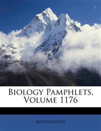 Biology Pamphlets, Volume 1176