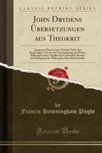 John Drydens Übersetzungen aus Theokrit