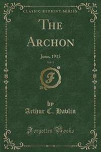 The Archon, Vol. 3