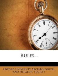 Rules...