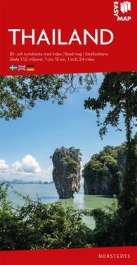 Thailand EasyMap : Skala 1:1,5milj