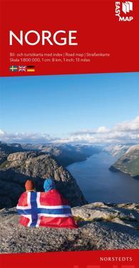 Norge EasyMap : Skala 1:800.000