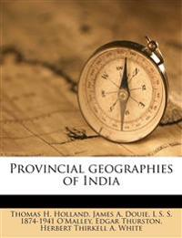 Provincial geographies of India