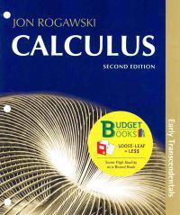 Calculus: Early Transcendentals (Loose Leaf)