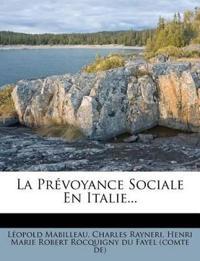 La Prévoyance Sociale En Italie...