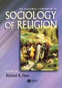 Companion Sociology Religion
