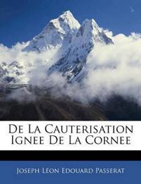 De La Cauterisation Ignee De La Cornee