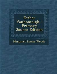 Esther Vanhomrigh - Primary Source Edition
