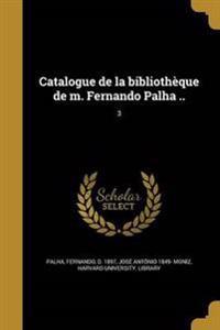 POR-CATALOGUE DE LA BIBLIOTHEQ