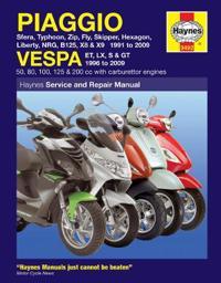 Haynes Piaggio Vespa Manual