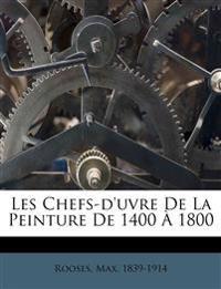 Les Chefs-d'uvre De La Peinture De 1400 À 1800