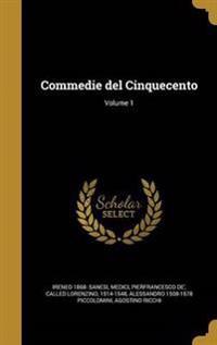 ITA-COMMEDIE DEL CINQUECENTO V