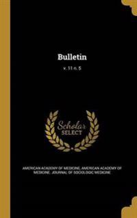 BULLETIN V 11 N 5