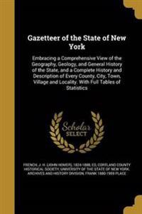 GAZETTEER OF THE STATE OF NEW
