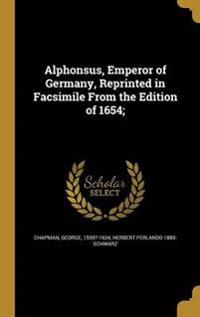 ALPHONSUS EMPEROR OF GERMANY R