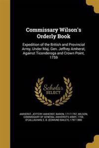COMMISSARY WILSONS ORDERLY BK