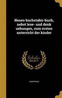 GER-NEUES BUCHSTABIR-BUCH NEBS