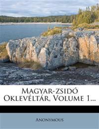 Magyar-zsidó Oklevéltár, Volume 1...