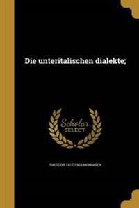 GER-UNTERITALISCHEN DIALEKTE