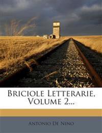 Briciole Letterarie, Volume 2...