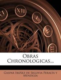 Obras Chronologicas...