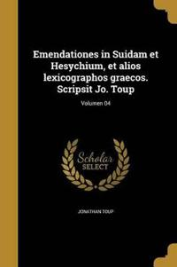 LAT-EMENDATIONES IN SUIDAM ET