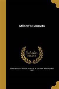 MILTONS SONNETS