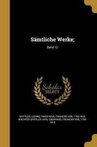 GER-SAMTLICHE WERKE BAND 12