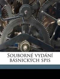 Souborné vydání básnických spis Volume 19