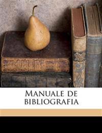Manuale de bibliografia