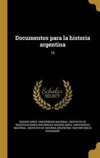 SPA-DOCUMENTOS PARA LA HISTORI