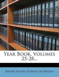 Year Book, Volumes 25-28...