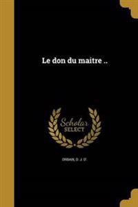 FRE-DON DU MAITRE