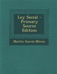 Ley Social