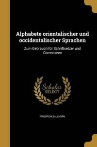 GER-ALPHABETE ORIENTALISCHER U