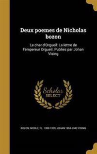 FRE-DEUX POEMES DE NICHOLAS BO