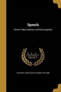 SPEECH VOLUME TALBOT COLL OF B